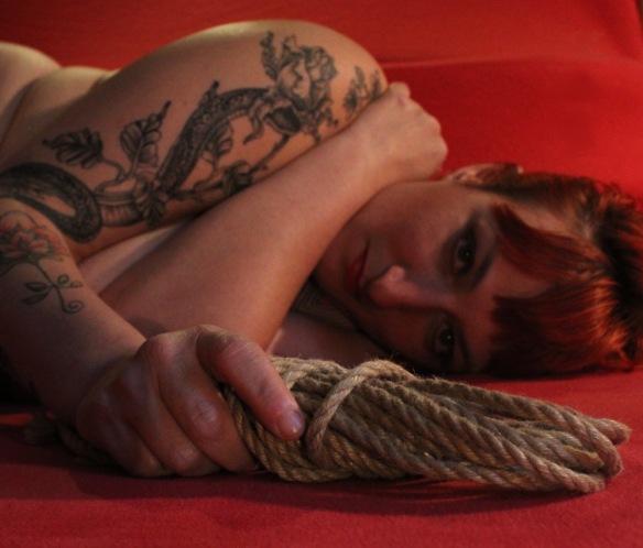 Head red ropes tagliata
